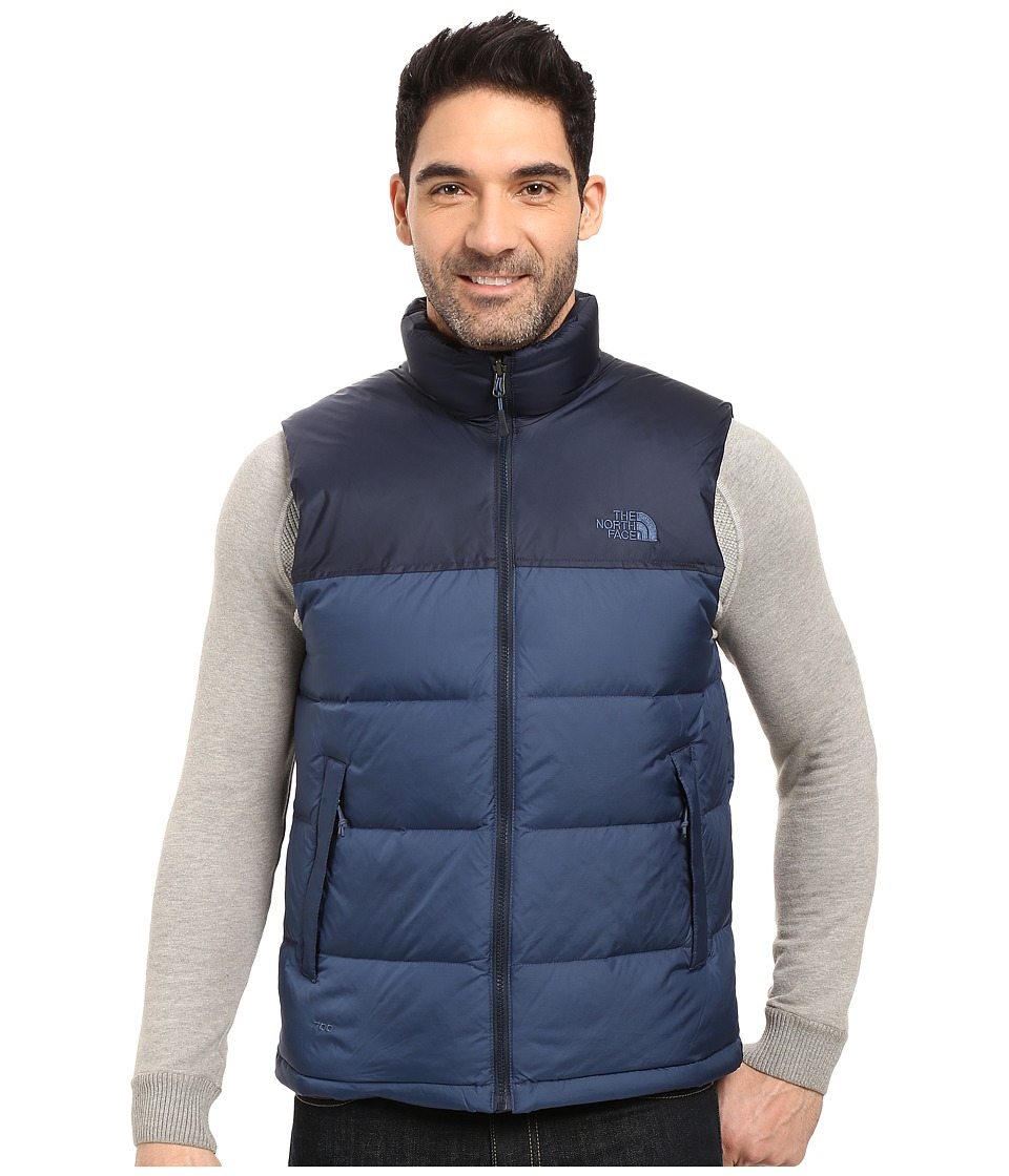 The North Face Nuptse Vest (Shady Blue/Urban Navy) Men