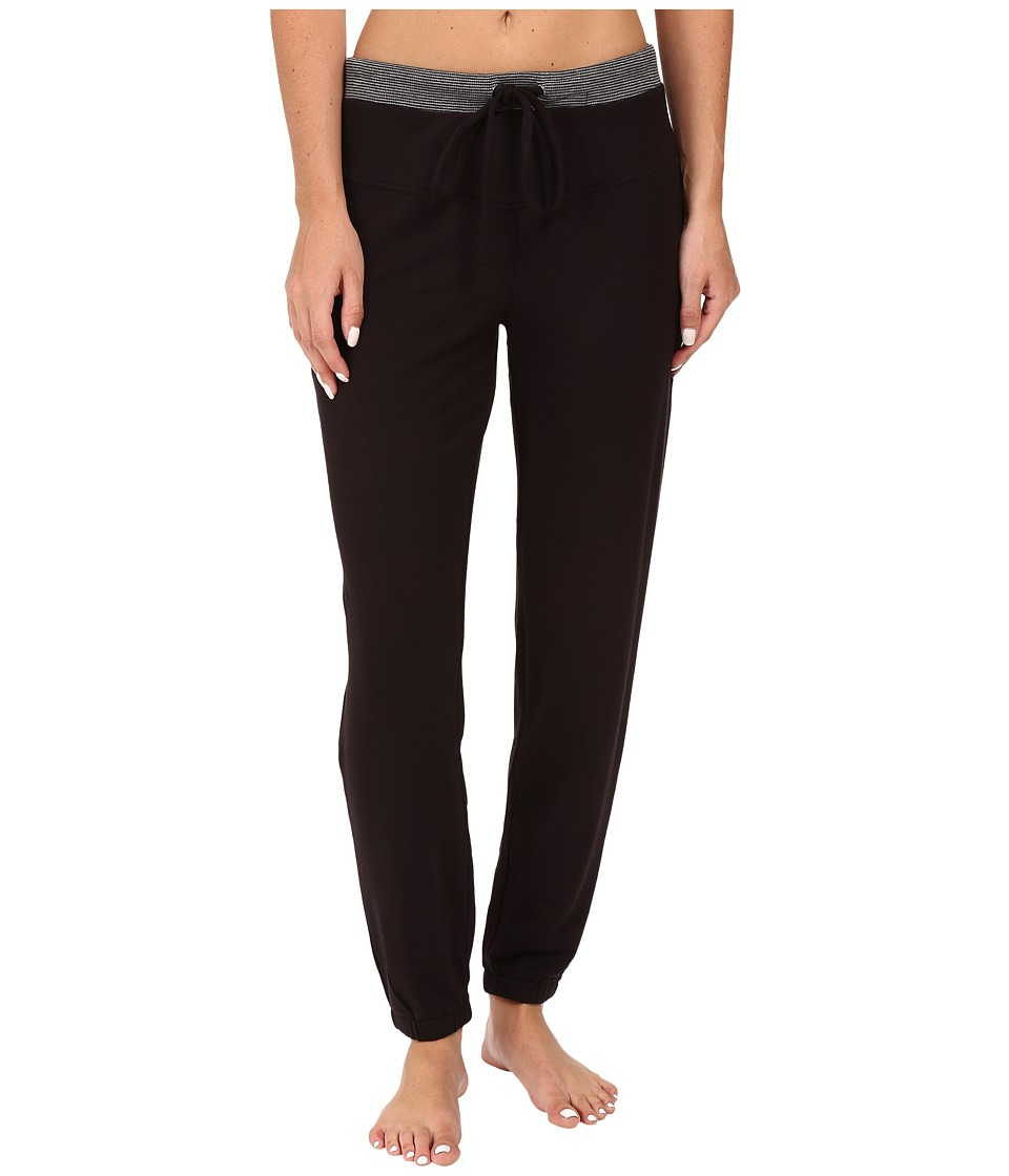 Midnight by Carole Hochman - Lounge Pants (Black) Women's Pajama