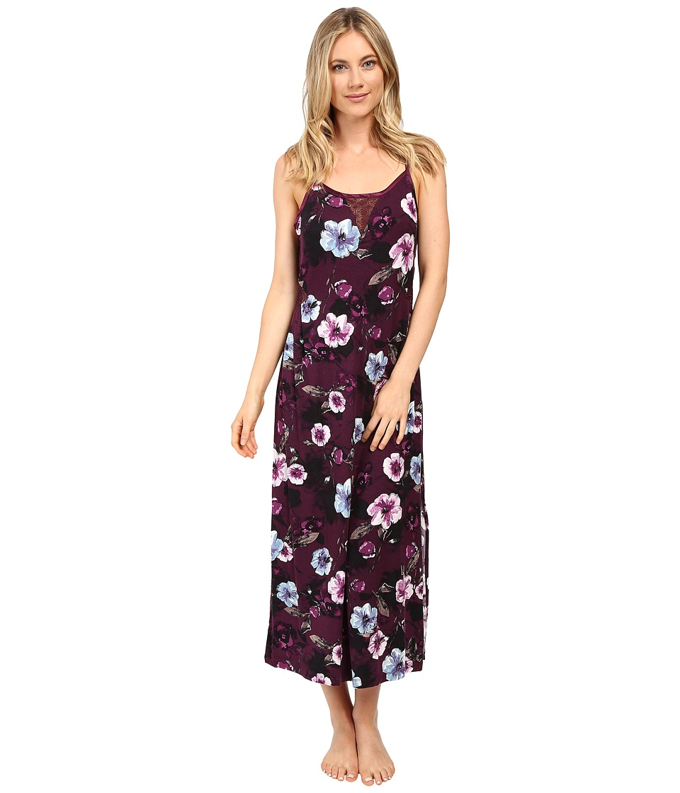 Midnight by Carole Hochman - Modal Long Gown (Floral) Women's Pajama