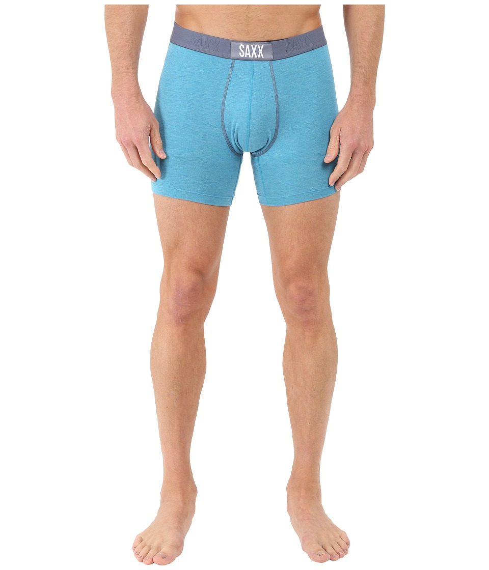 SAXX UNDERWEAR - Vibe Boxer Modern Fit (Miami Heather) Men's Underwear