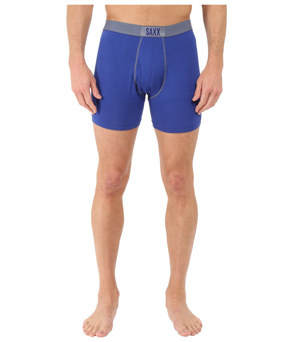 SAXX UNDERWEAR - Ultra Boxer Fly (Cobalt) Men's Underwear