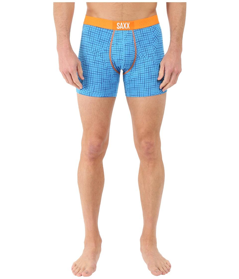 SAXX UNDERWEAR - Vibe Boxer Modern Fit (Malibu Off Grid) Men's Underwear