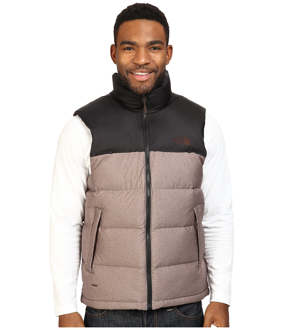 The North Face - Nuptse Vest (Coffee Bean Brown/TNF Black) Men's Vest