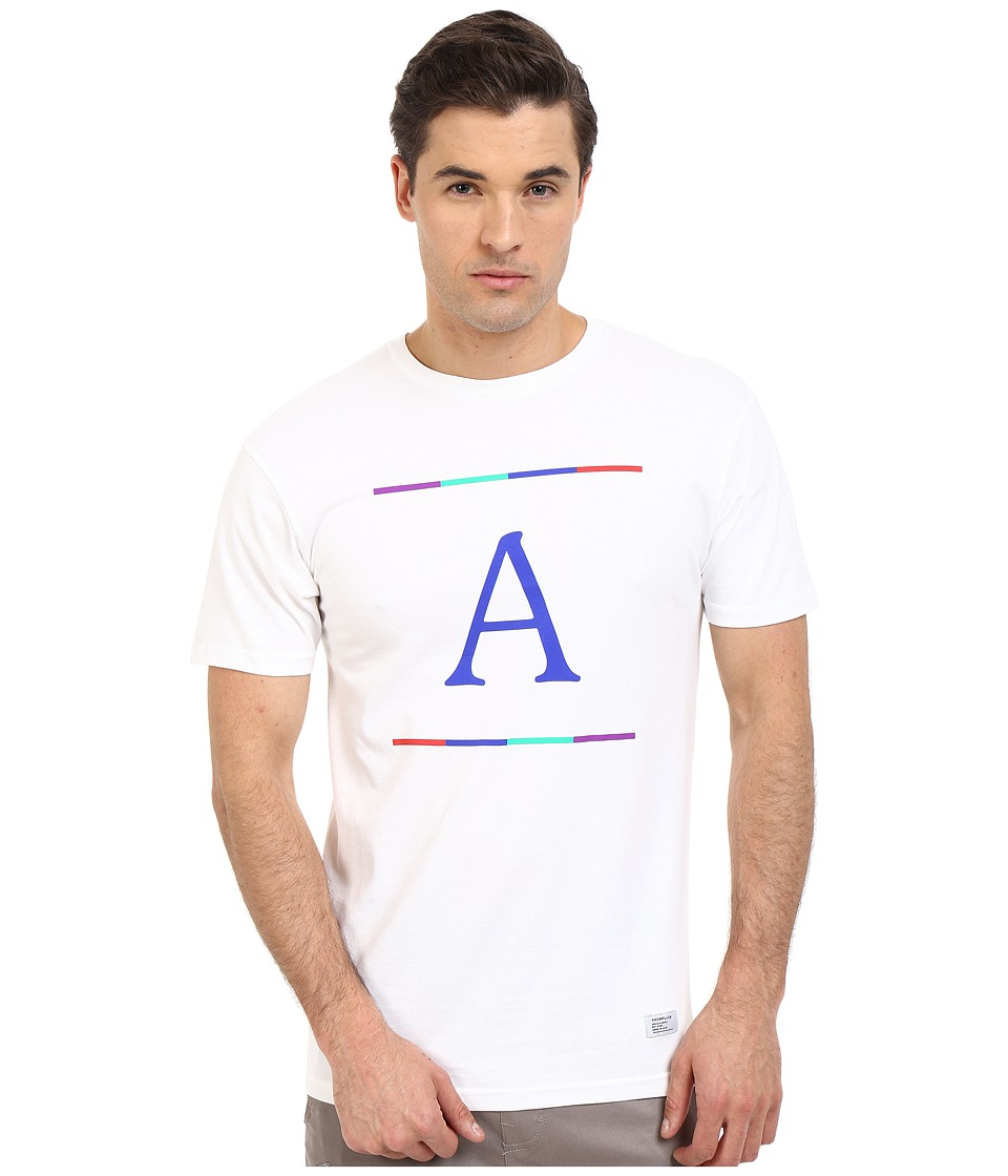 Akomplice - A+ Tee (White) Men's T Shirt
