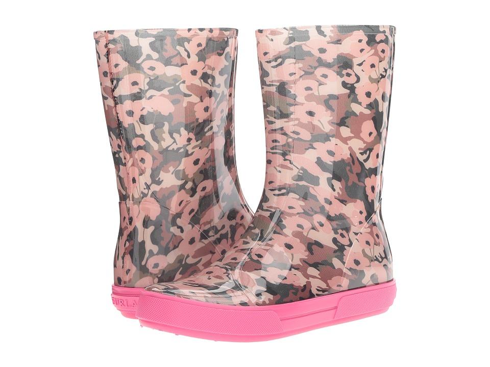 Furla - Candy Rain Boot (Toni Petrolio/Gloss) Women's Rain Boots
