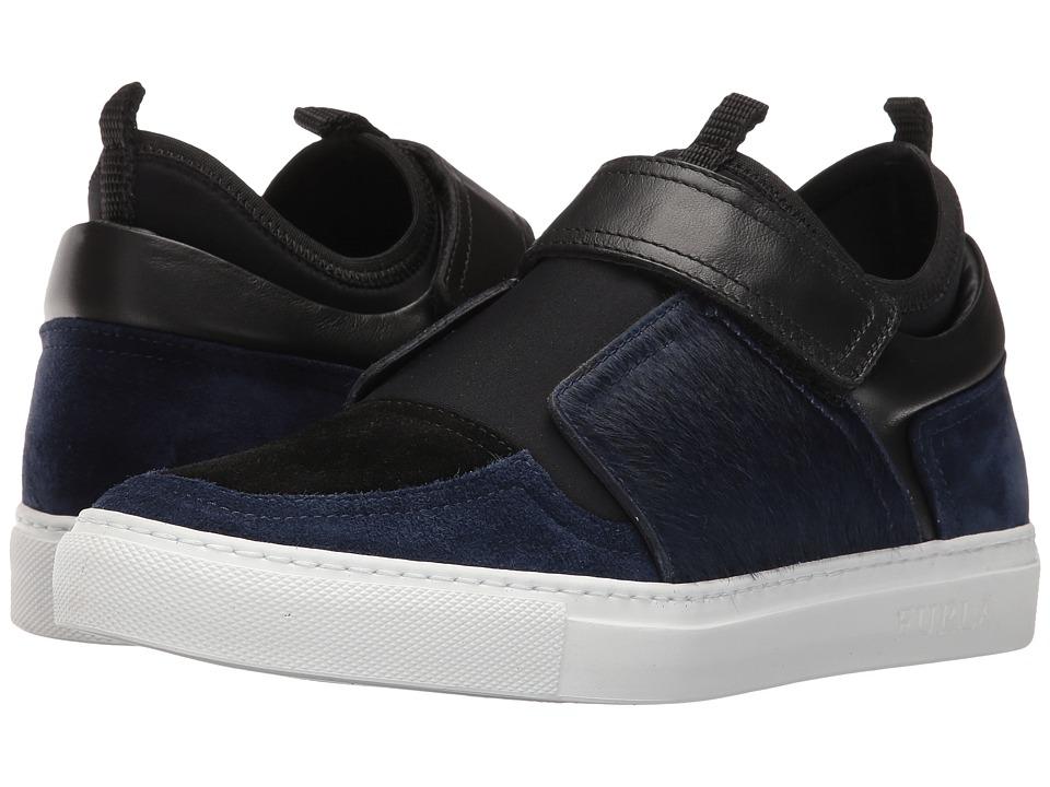 Furla Fantasia Sneaker Navy Womens Shoes