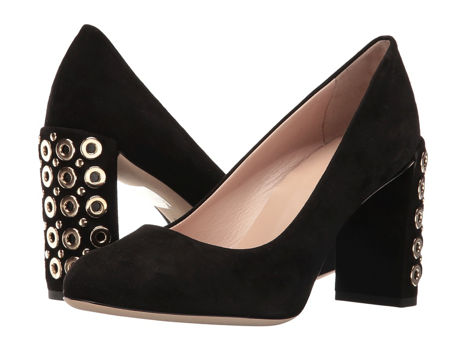 Furla - Lara Decollete (Onyx) High Heels