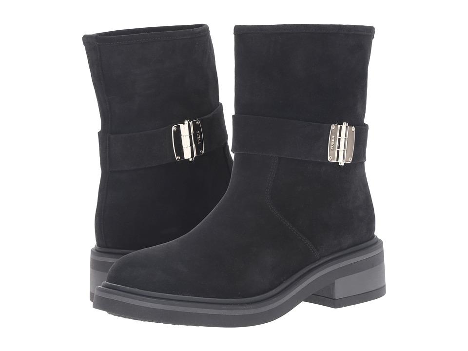 Furla - Club Biker (Onyx) Women's Boots