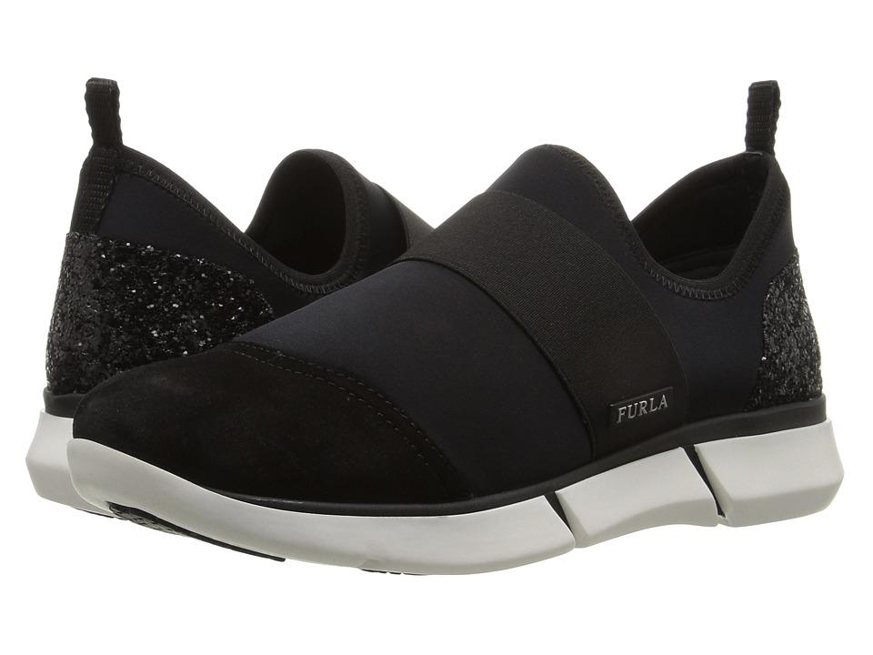 Furla - Mania Sneaker (Onyx) Women's Slip on Shoes