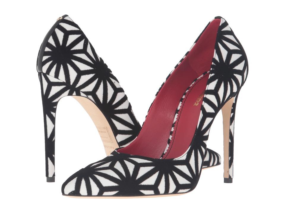 DSQUARED2 - Graphic Pump (Black/White) Women's Shoes