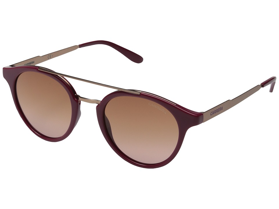 Carrera - Carrera 123/S (Cherry/Brown Pink Gradient Lens) Fashion Sunglasses