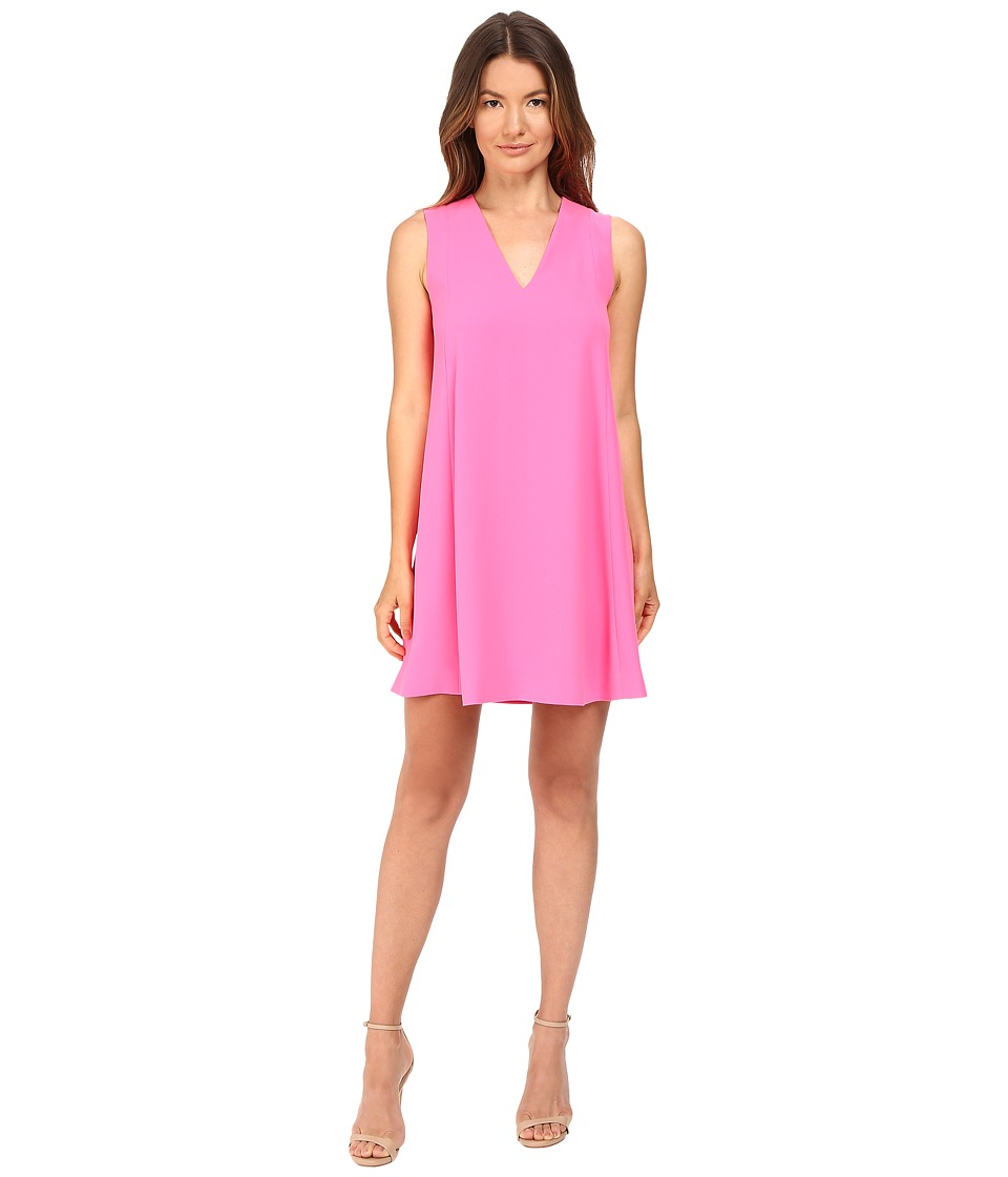 McQ - Flared Tank Dress (Shocking Pink) Women's Dress