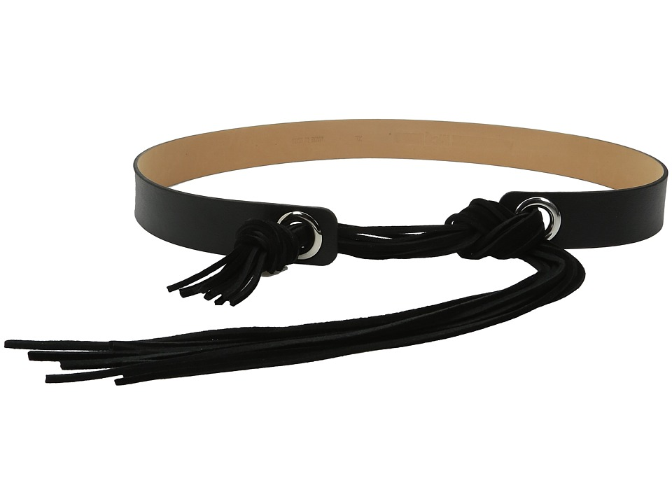 McQ - Fringe Belt (Black) Women's Belts