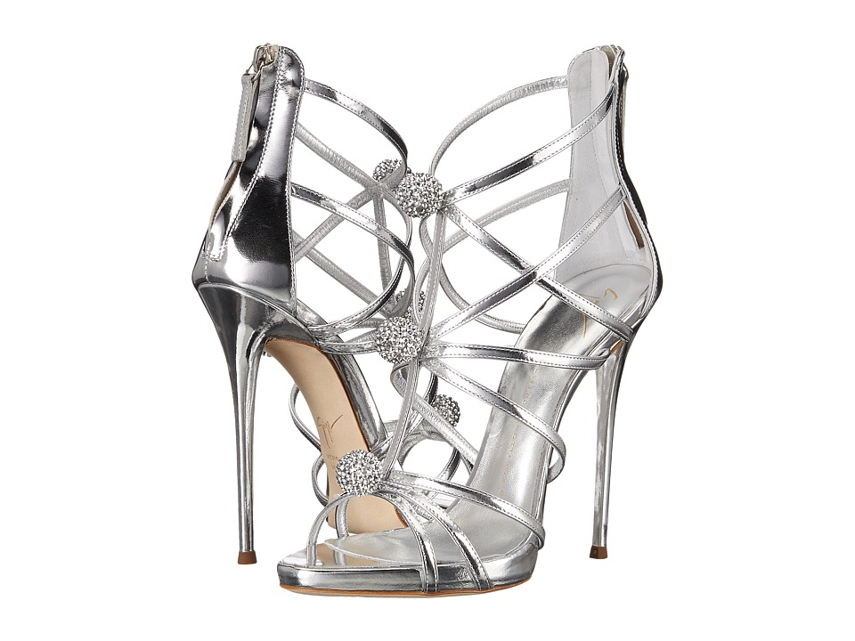 Giuseppe Zanotti I60113 Shooting Argento Womens Shoes