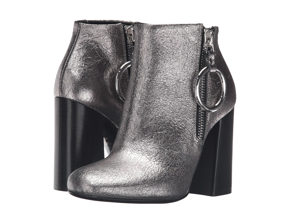 McQ Pembury Harness Boot (Light Gunmetal) Women