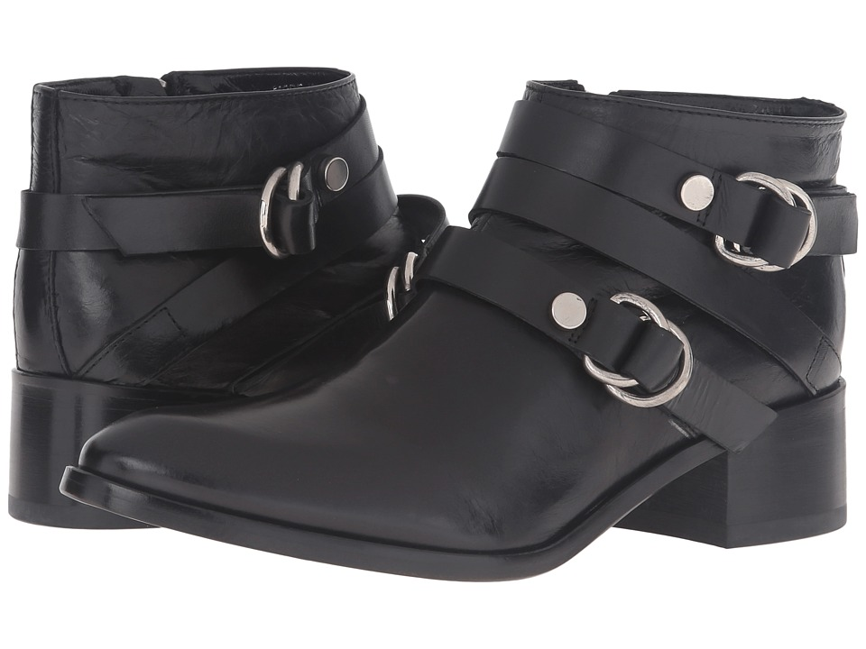 McQ - Ridley Harness Ankle (Black) Women's Boots