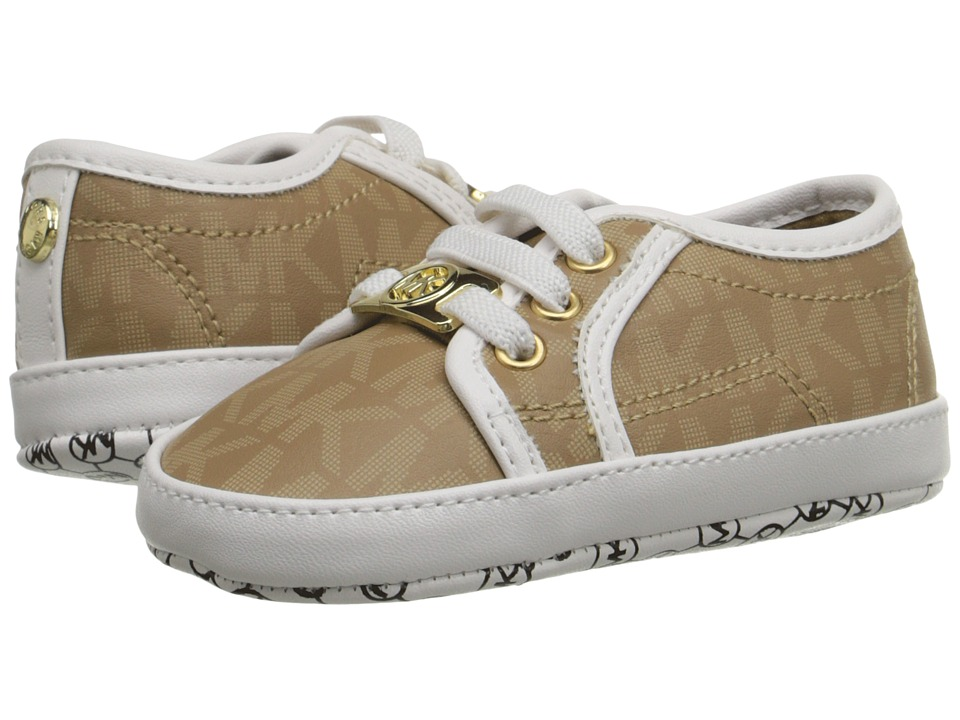 MICHAEL Michael Kors Kids - Baby Borium (Infant/Toddler) (Camel) Girls Shoes
