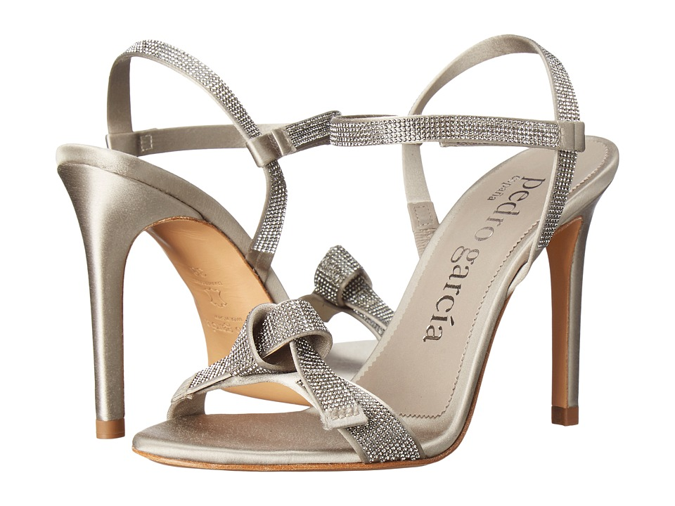 Pedro Garcia - Candice (Bronze Satin) High Heels