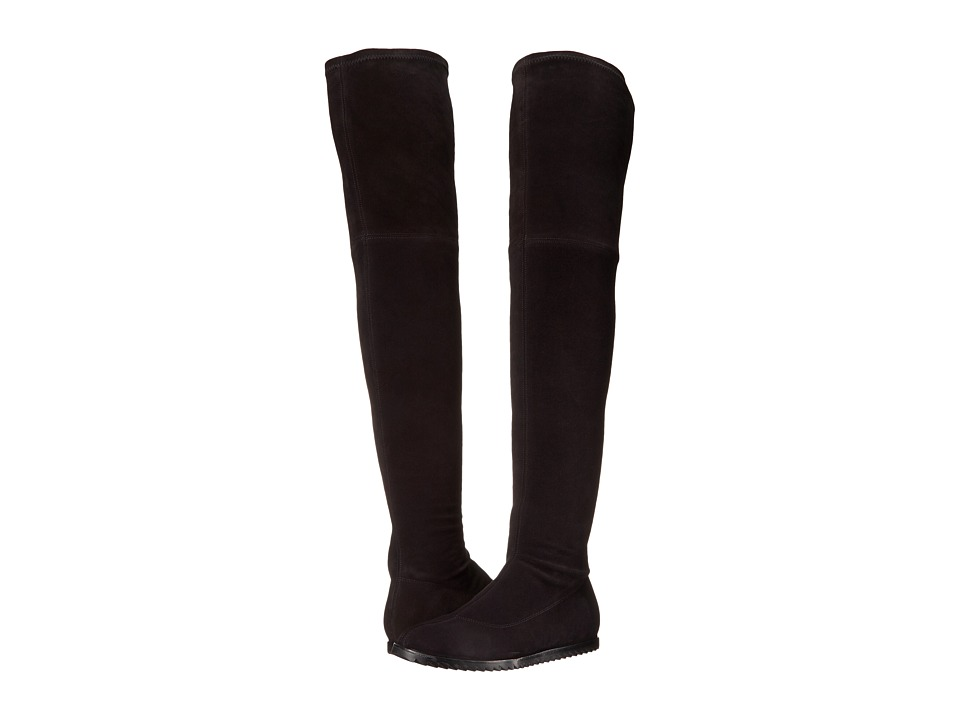 Pedro Garcia Yule (Black Stretch Suede) Women