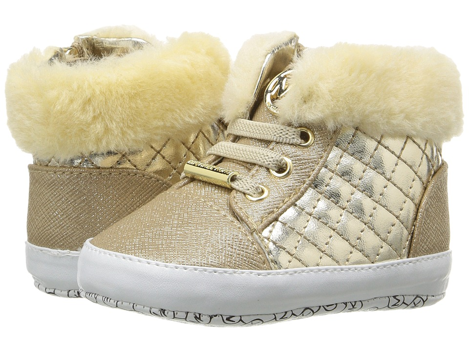 MICHAEL Michael Kors Kids - Baby Iris Lee (Infant/Toddler) (Light Gold) Girls Shoes