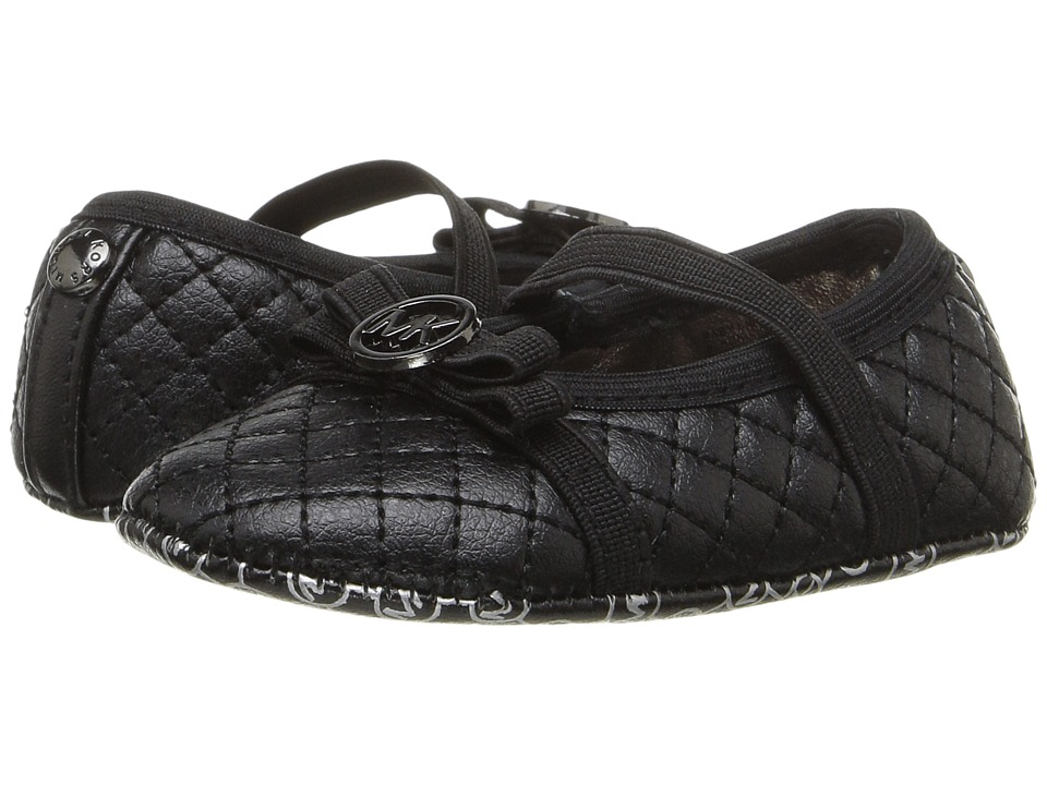 MICHAEL Michael Kors Kids - Baby Lilo (Infant/Toddler) (Black) Girls Shoes
