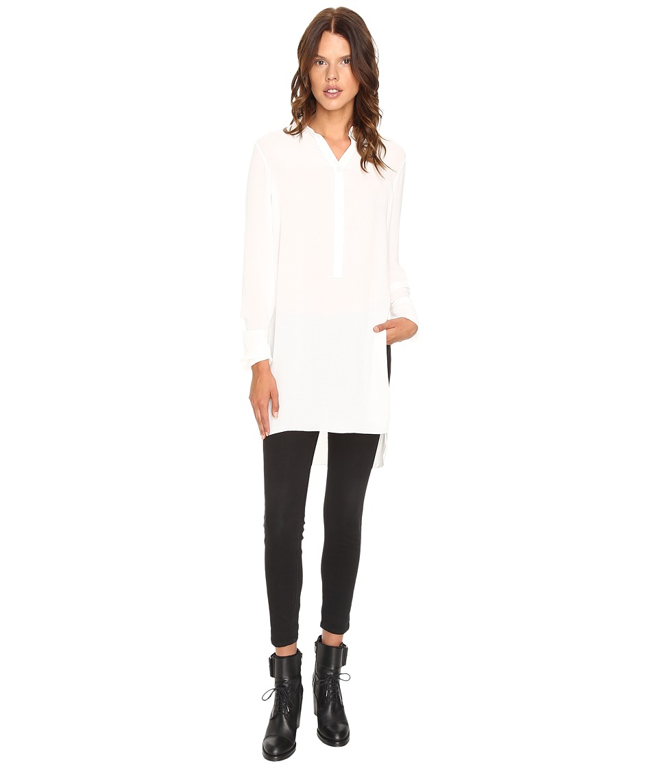 McQ - Tunic Shirt (Ivory) Women's Blouse
