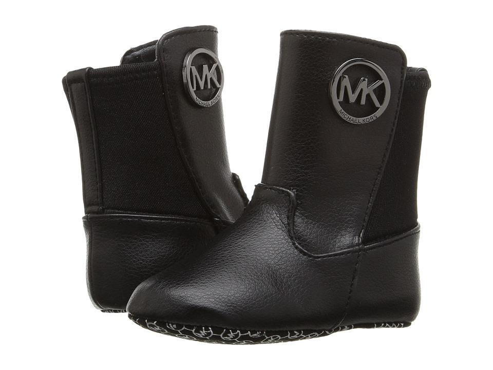 MICHAEL Michael Kors Kids - Baby Lily (Infant/Toddler) (Black Grainy) Girls Shoes