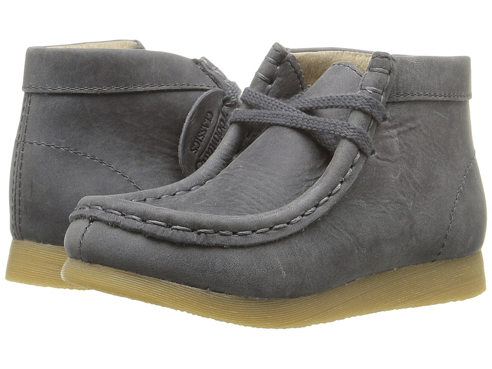 FootMates - Wally (Toddler/Little Kid) (Stone Oiled) Boy's Shoes