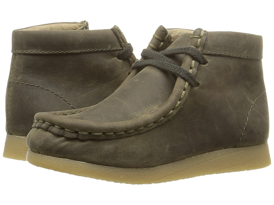 FootMates - Wally (Toddler/Little Kid) (Forest Oiled) Boy's Shoes