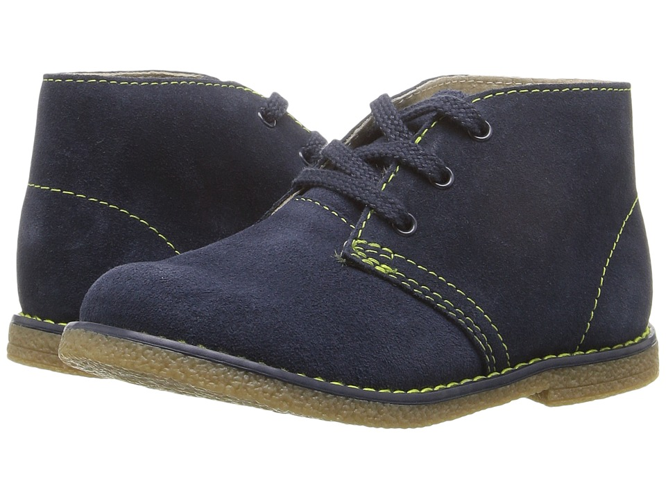 FootMates - Mojave (Toddler/Little Kid) (Denim/Lime) Boy's Shoes