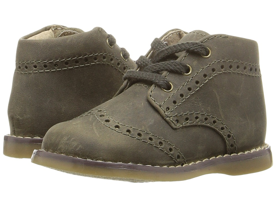 FootMates - Cole (Infant/Toddler) (Forest Oiled) Boy's Shoes