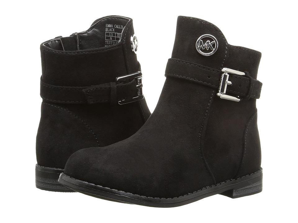 MICHAEL Michael Kors Kids - Emma Callie-T (Toddler/Little Kid) (Black) Girls Shoes