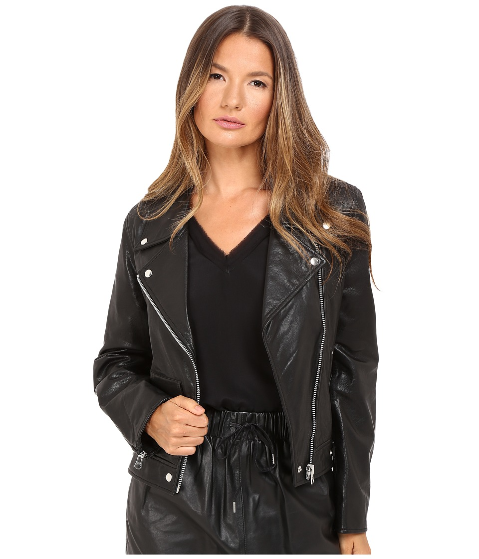 McQ - Casual Biker (Black) Women's Coat