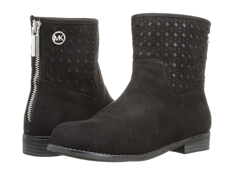 MICHAEL Michael Kors Kids - Emma Stef (Little Kid/Big Kid) (Black) Girl's Shoes