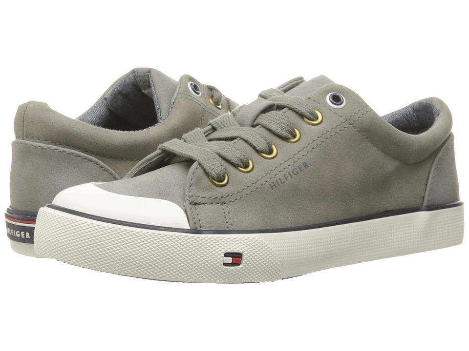 Tommy Hilfiger Kids - Dennis Reno (Little Kid/Big Kid) (Dark Gray) Boy's Shoes