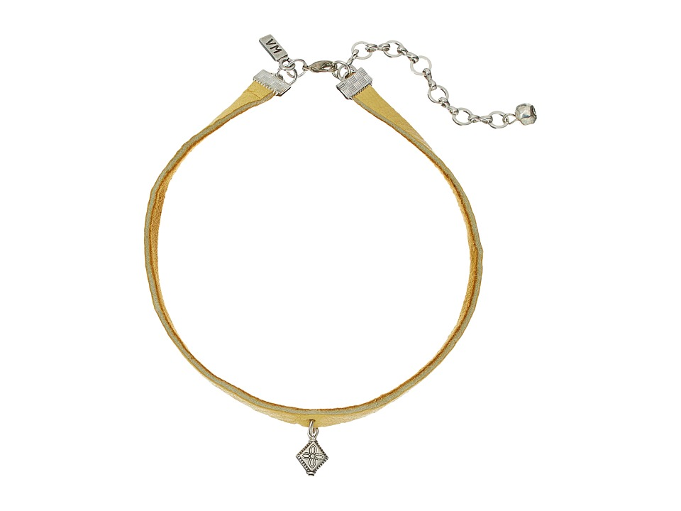 Vanessa Mooney - The Ada Choker Necklace (Silver) Necklace
