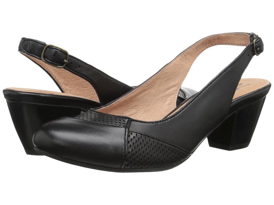 Miz Mooz Faustine (Black) High Heels