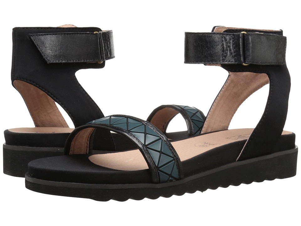 Miz Mooz - Keira (Black) Women's Sandals