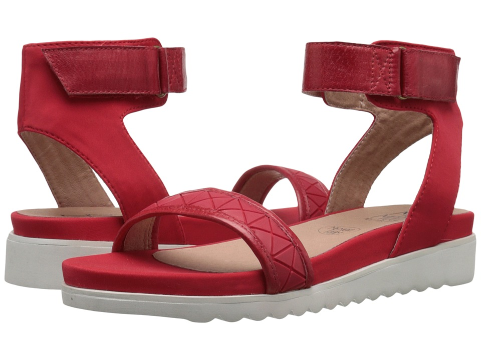 Miz Mooz - Keira (Red Suede) Women's Sandals