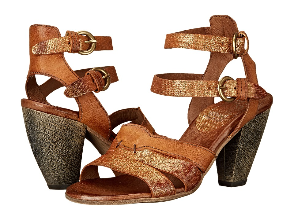 Miz Mooz - Martine (Caramel) Women's Sandals