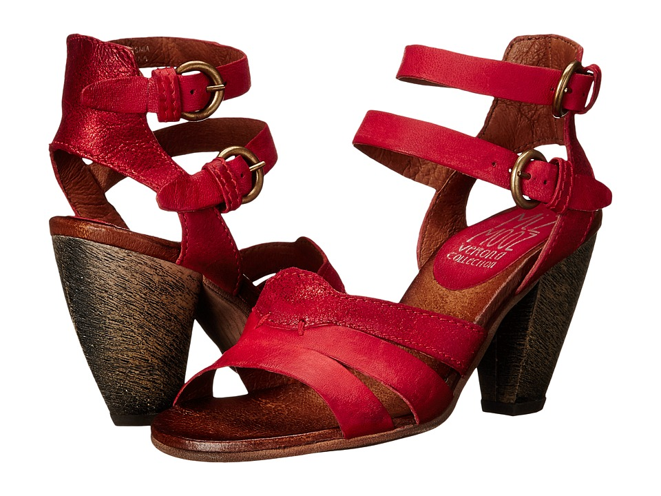 Miz Mooz - Martine (Red) Women's Sandals