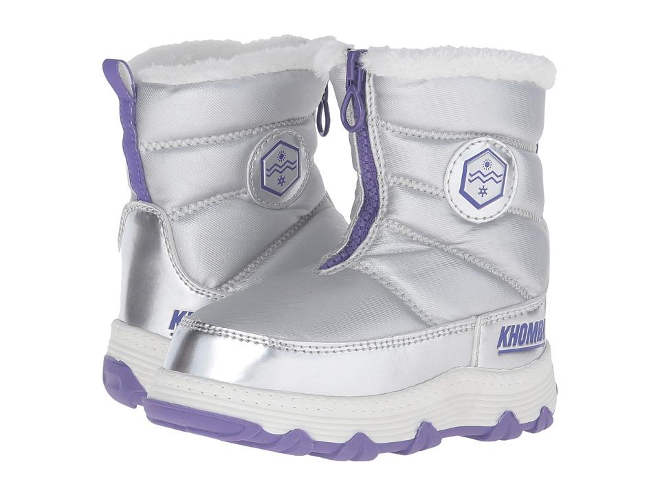 Khombu Kids - Mayra (Toddler/Little Kid/Big Kid) (Silver) Girls Shoes
