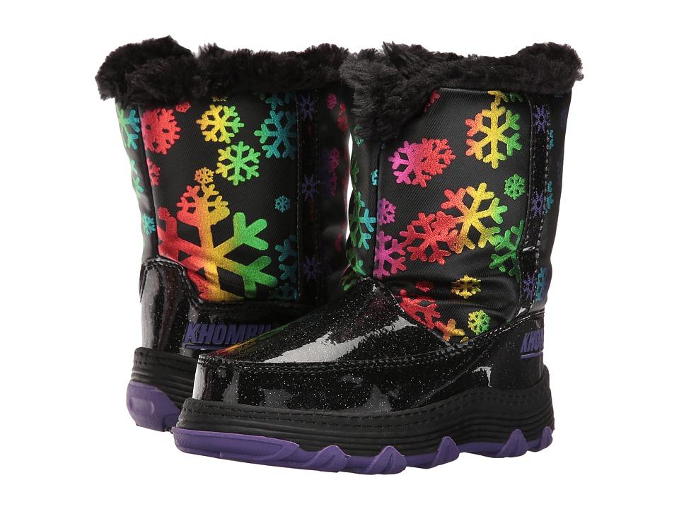 Khombu Kids Joy (Toddler/Little Kid) (Black) Girls Shoes