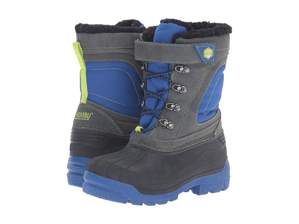 Khombu Kids - Snowblaster (Little Kid/Big Kid) (Blue/Grey) Boys Shoes