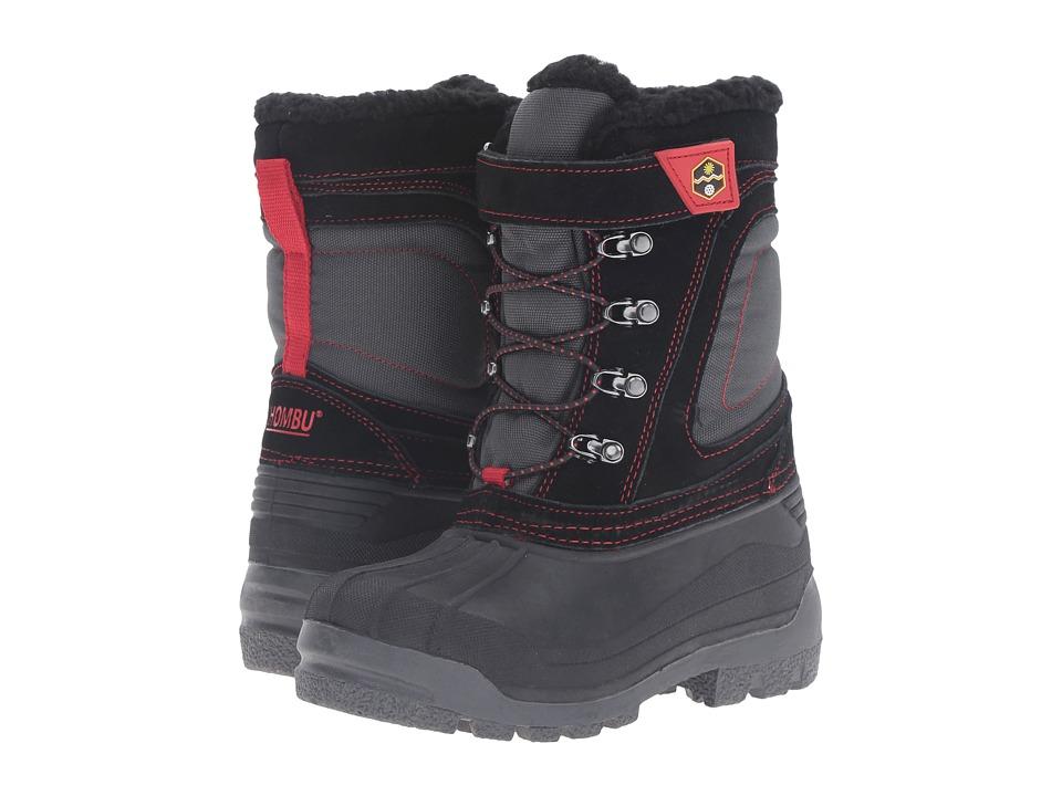 Khombu Kids - Snowblaster (Little Kid/Big Kid) (Black/Grey) Boys Shoes