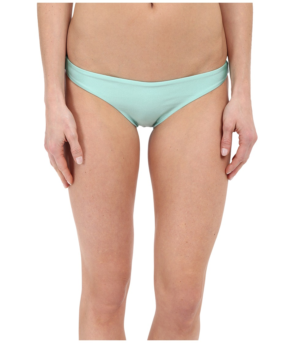 Amuse Society - Everly Solid Skimpy Bottom (Green) Women's Swimwear