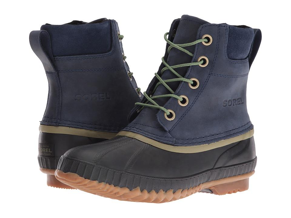 SOREL - Cheyanne Lace Full Grain (Collegiate Navy) Men's Cold Weather Boots