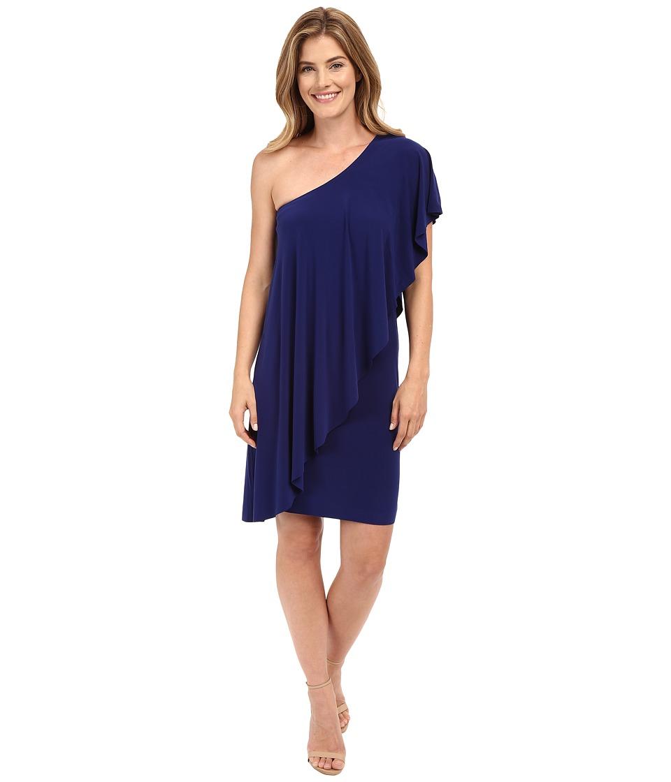 KAMALIKULTURE by Norma Kamali - Circle Dress (Blueberry) Women's Dress