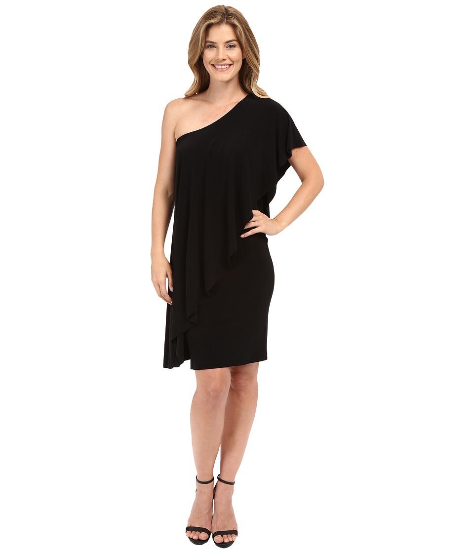 KAMALIKULTURE by Norma Kamali - Circle Dress (Black) Women's Dress