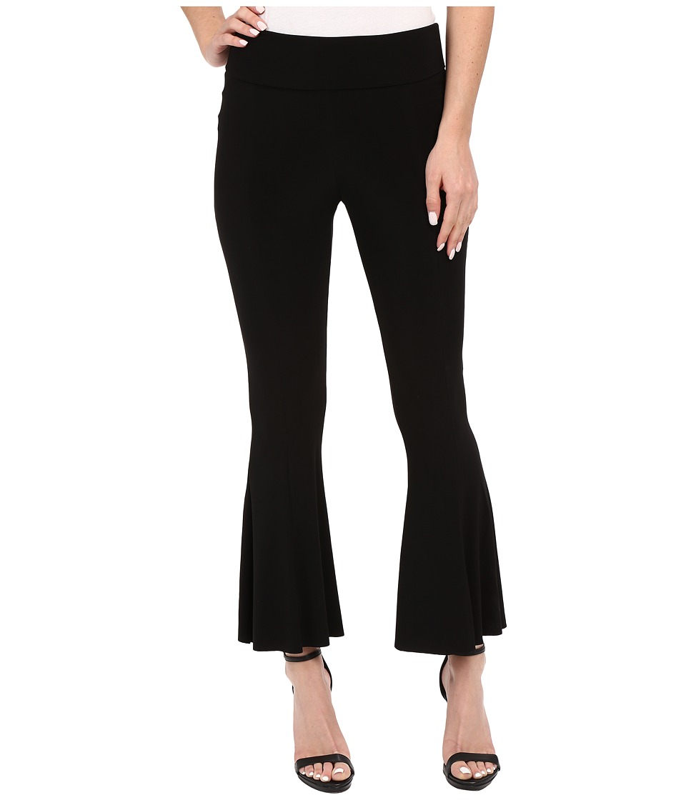 KAMALIKULTURE by Norma Kamali - Cropped Fishtail Pants (Black) Women's Casual Pants